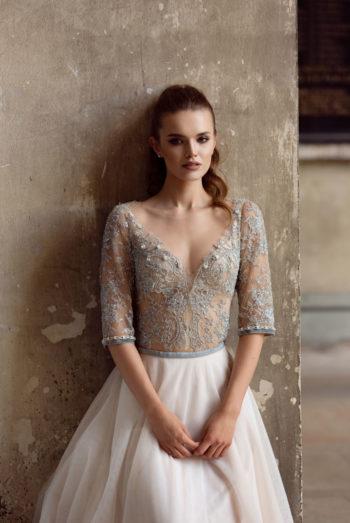 Suknia ślubna - Body SP1901 <br> Skirt SP1901 - kolekcja  2019